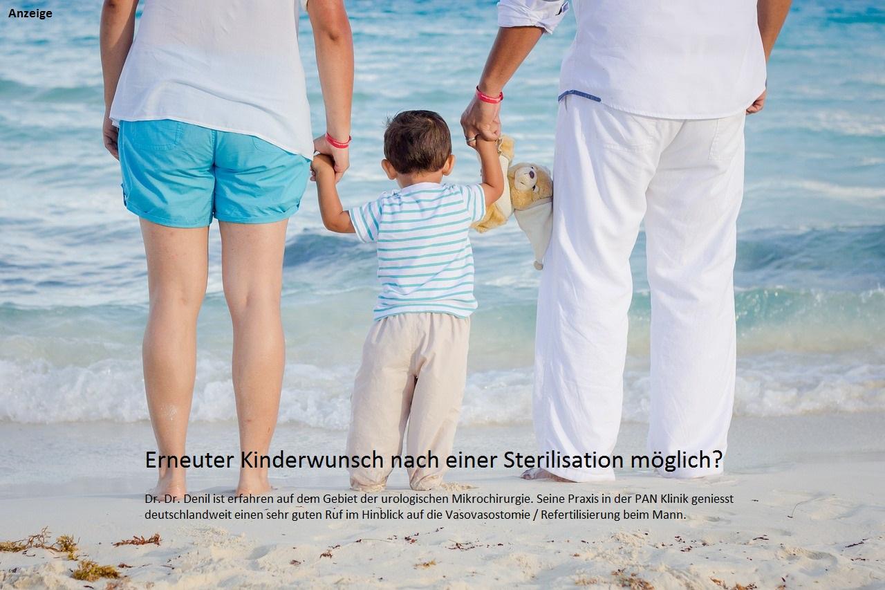 Erneuter Kinderwunsch nach Sterilisation (Vasektomie)