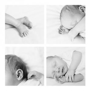 natürliche Babyfotografie in vertrauter Atmosphäre