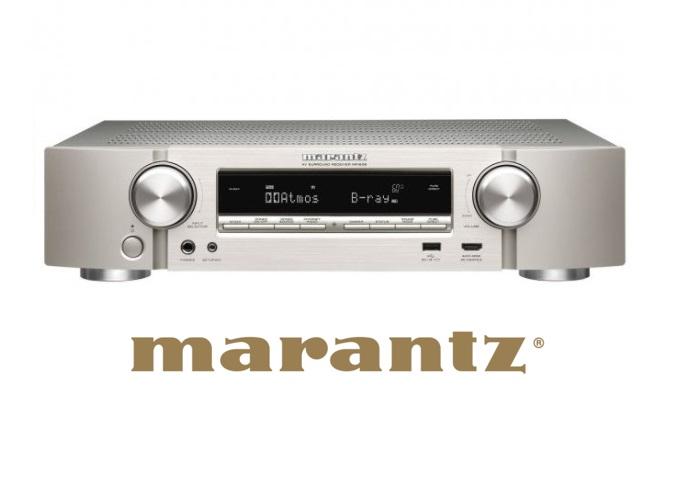 Marantz NR1608 Dolby Atmos AV-Empfänger Ansicht
