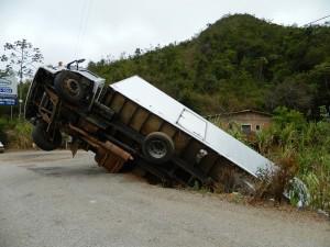 Schweres Busunglück in Spanien