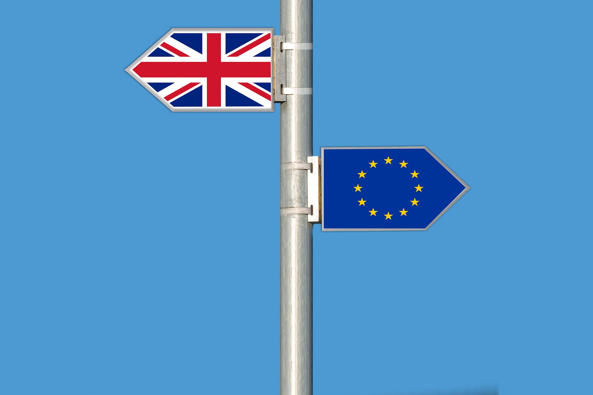 Die EU und Großbritannien trennen sich