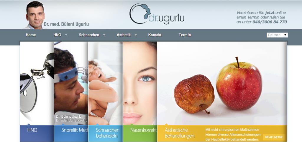 Dr. Ugurlu informiert Interessenten auf seiner Website ausführlich über alle Eingriffe
