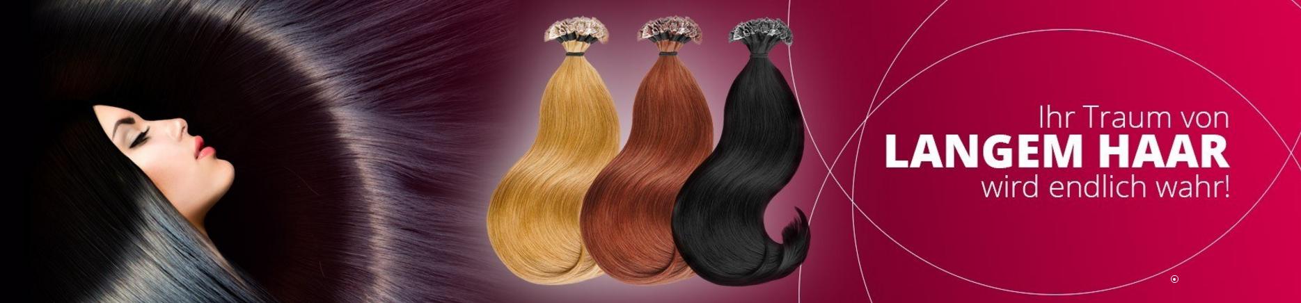Extensions für langes und volles Haar