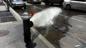 Wasserhydrant in New York City