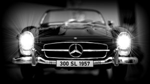 Mercedes Studie: Es werde Licht