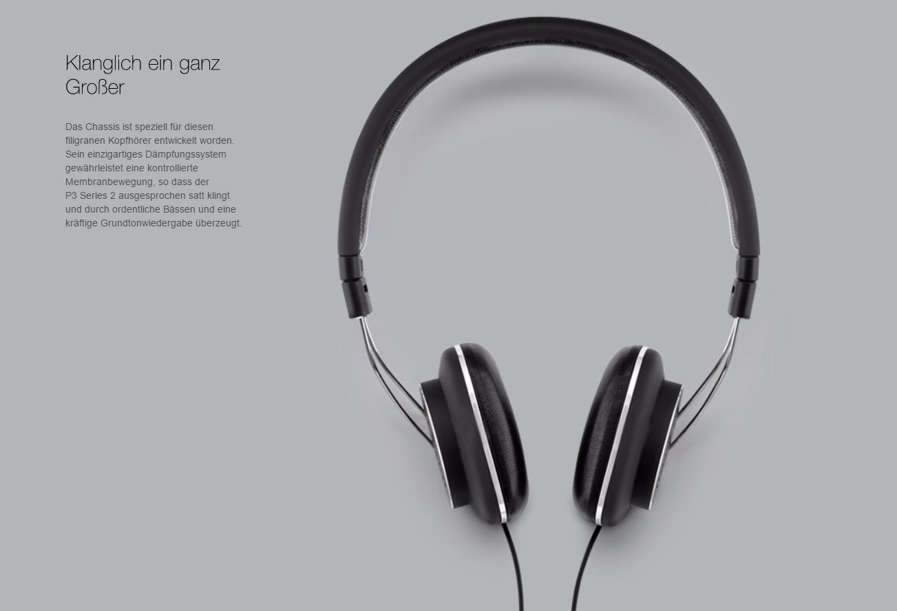 Bild von Website www.bowers-wilkins.de/